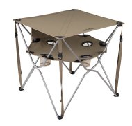 folding table with cupholders